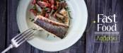 Ψητό λαβράκι με γρήγορη σαλάτα