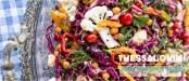 Πικάντικη σαλάτα με ρεβίθια