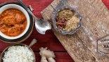 Κοτόπουλο με σάλτσα μπαχαρικών (Ινδικό Butter Chicken)
