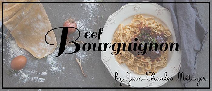 Μοσχάρι Μπουρκινιόν (Boeuf Bourguignon)