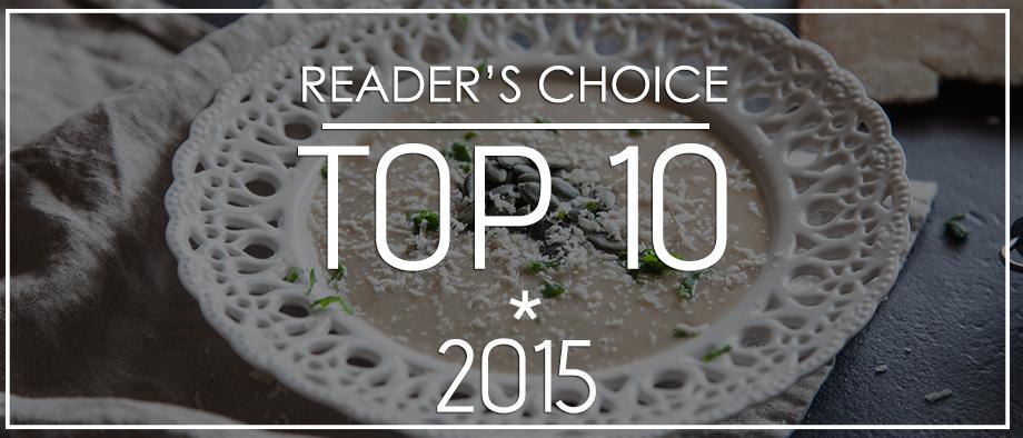 Οι 10 συνταγές που αγαπήσατε το 2015