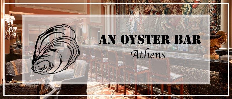 Ένα pop up Oyster Bar στην Αθήνα