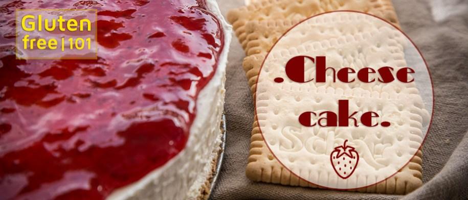 Τσιζκέικ χωρίς γλουτένη (Cheesecake)