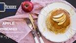 Pancakes με μήλο & κανέλα