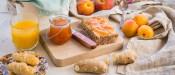 Μαρμελάδα βερίκοκο-ροδάκινο χωρίς ζάχαρη