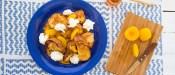 Αυγόφετες τσουρεκιού με ροδάκινα (French Toast)