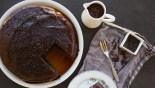Σιροπιαστό κέικ σοκολάτας με τρούφα (Μυρμηγκάτο)