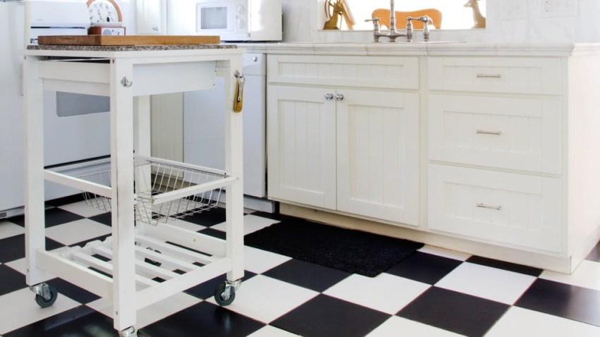 Λερώνεται συνέχεια το πάτωμα της κουζίνας σου; Τι να κάνεις