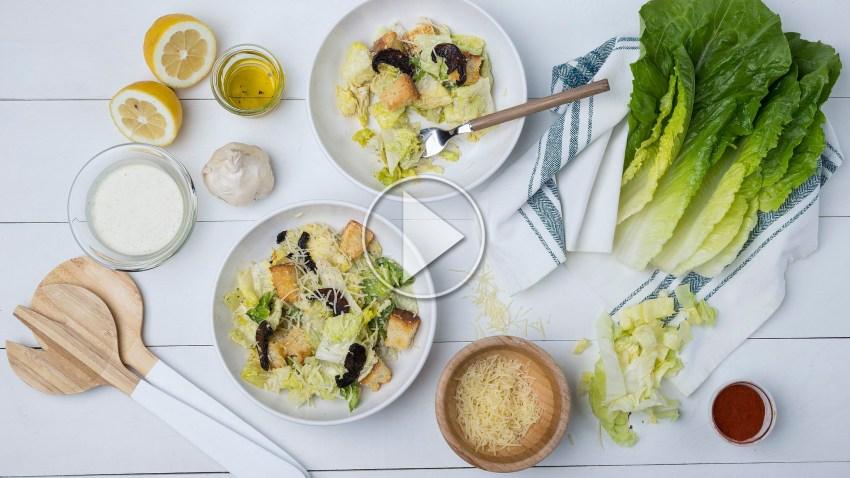 H vegan Caesar's σαλάτα είναι πιο νόστιμη από την κλασική (VIDEO)