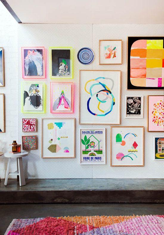 un mur de tableaux madame marion. Black Bedroom Furniture Sets. Home Design Ideas