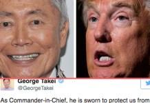 ジョージ・タケイ、日系人強制収容所の経験からトランプ政治を痛烈批判!