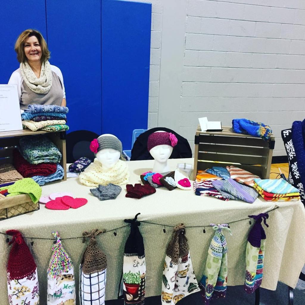 The Northampton Community College Craft Fair is happening now! madamestitchhellip