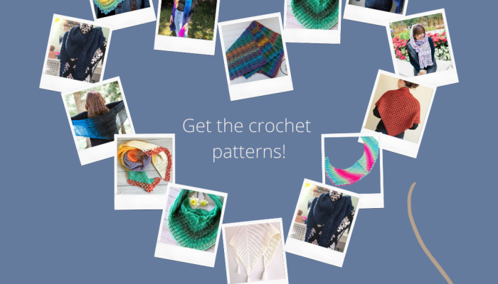 Shawls and wrap crochet patterns for spring