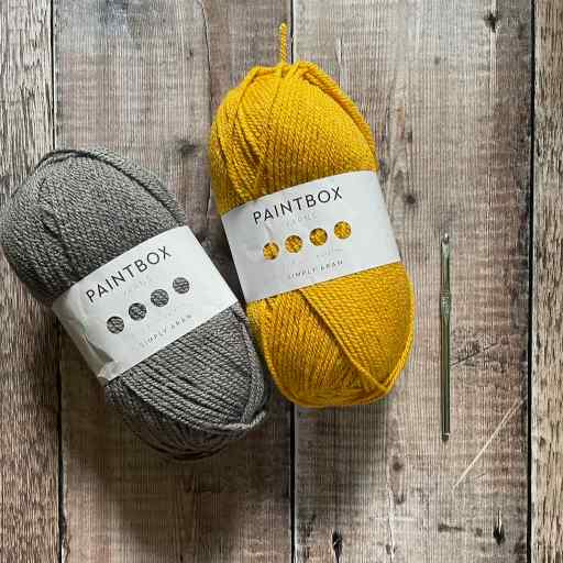 Picture of Paintbox Yarns Simply Aran for the Granny Wrap crochet pattern