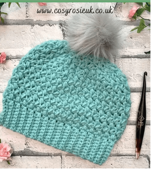 Beautiful Beans Beanie by Cosy Rosie UK