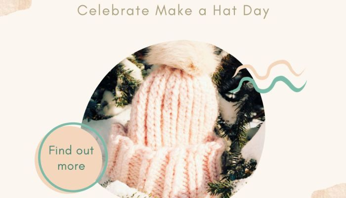 Crochet for Charity on Make a Hat Day | blog post by MadameStitch