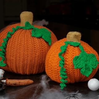 Halloween pumpkin crochet pattern