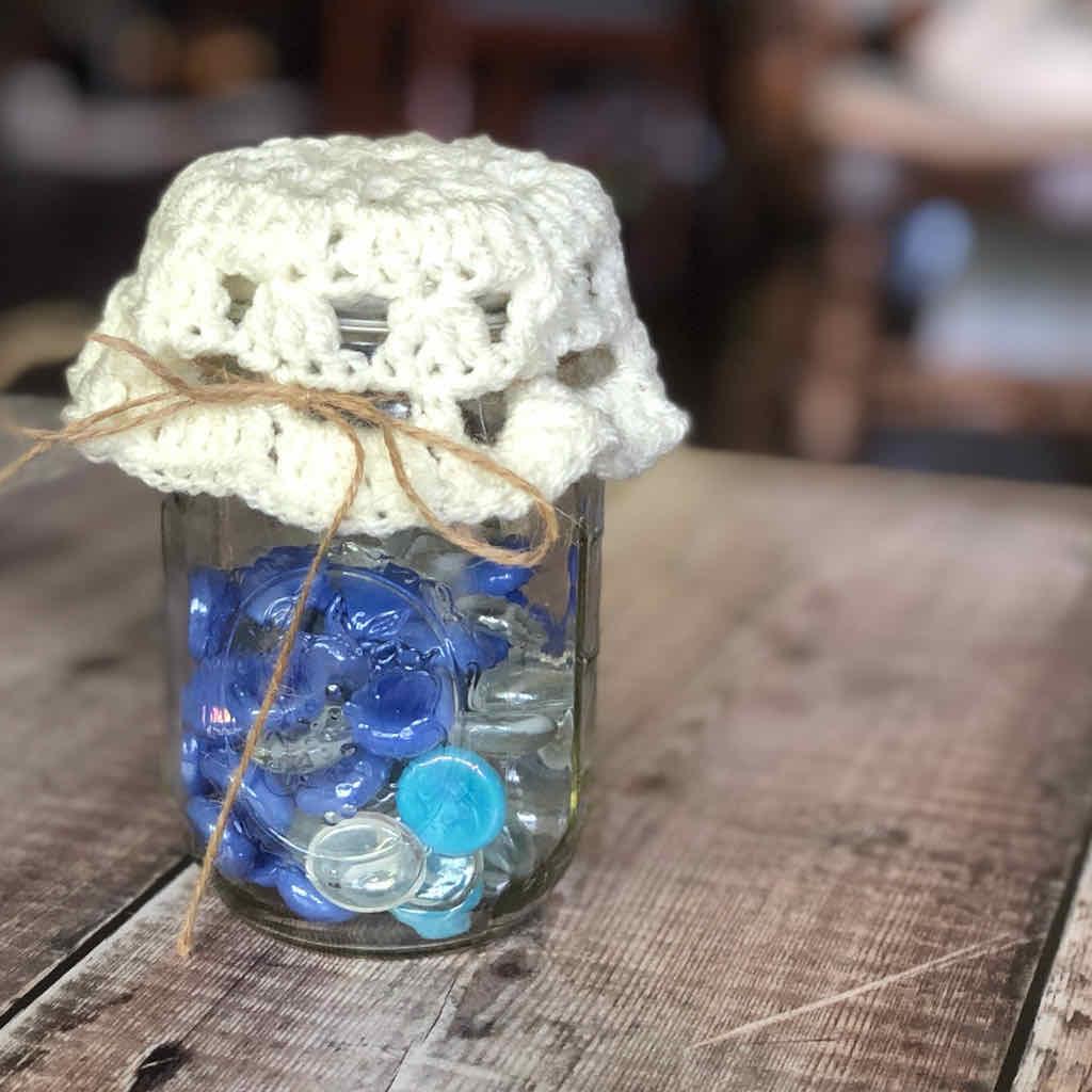 Mason jar doily free pattern