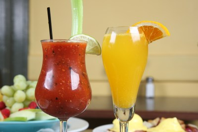 bloody & mimosa