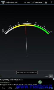 Intensità segnale WIFI