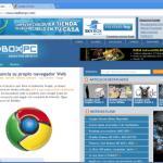 Google Chrome Beta 0.2.152.1