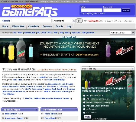 gamefaqs-owned