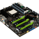 Placa NVIDIA nForce 980a SLI revelada