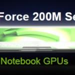 NVIDIA lanza nuevas GeForce 200M a 40nm