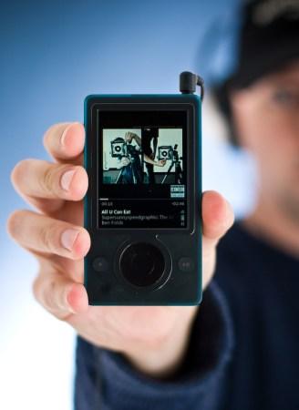 El Zune de Microsoft. aplastado en ventas por el iPod