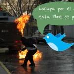 Protestas + Twitter = Visita del FBI