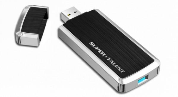 Super Talent USB 3.0 RAIDDrive 1 600x327 Super Talent RAIDDrive USB 3.0, el Pendrive más rápido del mundo!