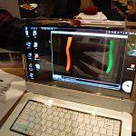 CES2010: Samsung presenta Notebook con pantalla OLED Transparante