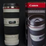 Me gusta el café cargado, sin azúcar y en un lente Canon