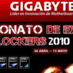 CEO2010: Torneo de Overclock de Gigabyte