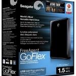 """Seagate FreeAgent GoFlex, unidad externa de 2.5"""" con 1.5TB y USB 3.0"""