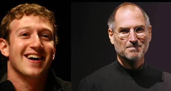 Steve Jobs invita a Mark Zuckerberg a su casa en Palo Alto
