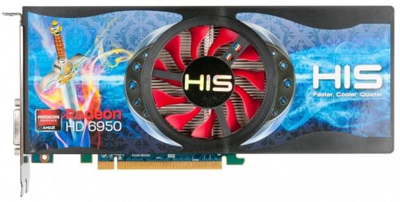 HIS Radeon HD 6950 1GB