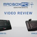 [Video-Review] Teclados Thermaltake Tt eSports Challenger Pro y MEKA G1
