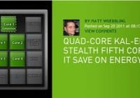 NVIDIA revela nuevos detalles de la arquitectura de Kal-El (Tegra 3)