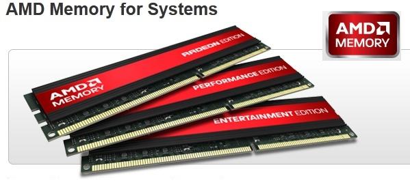 Primeras memorias AMD ya tienen precios y disponibilidad