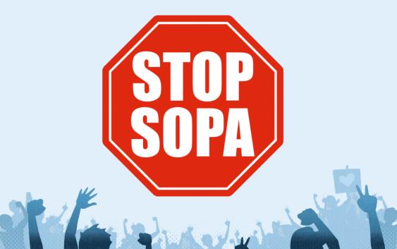 Estas son las paginas que hoy cerrarán en contra de la ley SOPA
