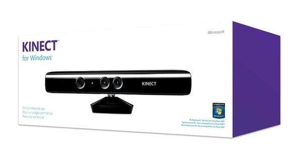 Microsoft lanza finalmente Kinect para Windows