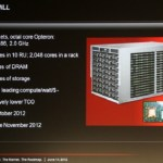 """AMD y SeaMicro preparan su propio servidor con CPUs Opteron """"Seoul"""""""