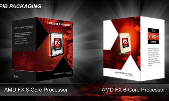 """Algunos precios de pre-venta de 4 CPU AMD FX de segunda generación """"Vishera"""""""