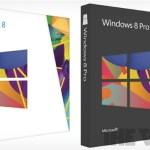 Se revelan los empaques de Windows 8