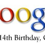 Google cumple 14 años y lo celebra con un Doodle
