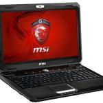 MSI GX60 notebook gamer con APU Trinity A10 y Radeon HD 7970M
