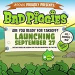 Rovio prepara Bad Piggies para el 27 de septiembre
