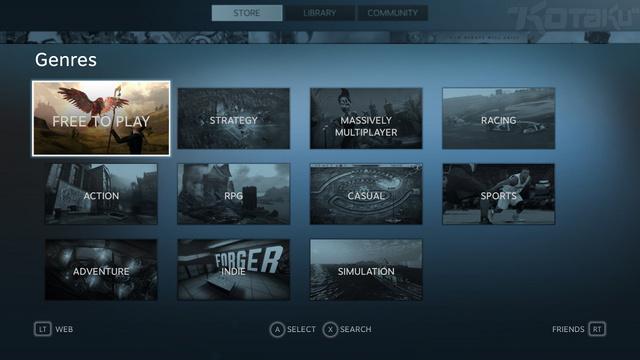 ¡Steam Big Picture Beta ya se encuentra disponible!