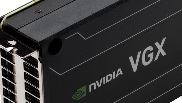 NVIDIA anuncia VGX K1 y VGX K2, tarjetas profesionales para Cloud Computing